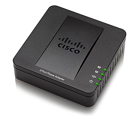 Cisco SPA112 2 Port Phone Adaptor